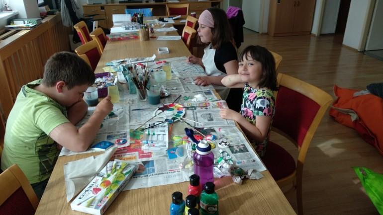 Skupina pro děti pracovníků Centra sociálních služeb a pomoci