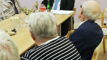 Čtvrté setkání klientů se starostou města Chrudim