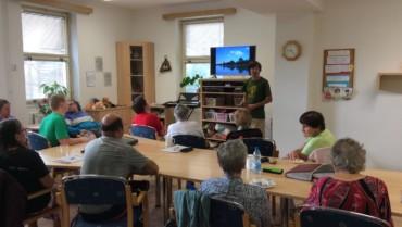 Přednáška o ekologii a přírodě