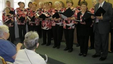 Vystoupení Kolínského pěveckého sboru