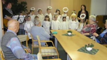 Vystoupení dětí z mateřské školy
