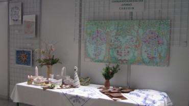 """Výstava """"Šikovné ruce našich seniorů"""" v Lysé nad Labem"""