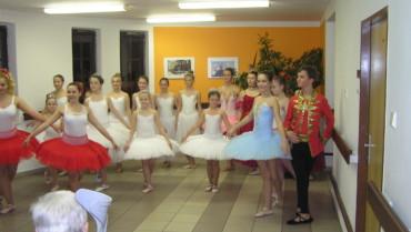 Vystoupení baletek