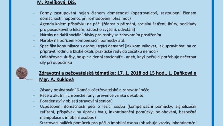 Témata besed Klubíčka