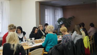 Setkání poskytovatelů pečovatelských služeb spracovníky Krajského úřadu